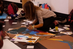 workshop Be a Planet all'interno di Be Human Be Bored - mostra personale di Gianluca Sturmann
